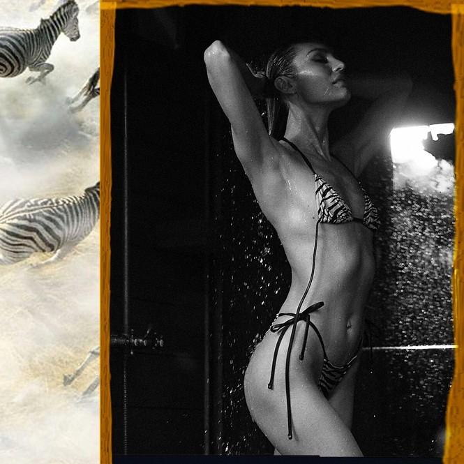 Candice Swanepoel táo bạo phô diễn đường cong 'rực lửa' - ảnh 3