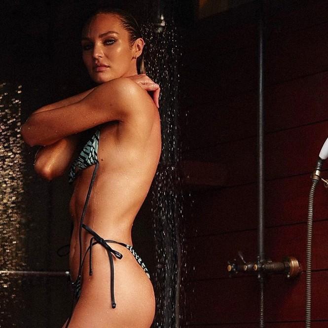 Candice Swanepoel táo bạo phô diễn đường cong 'rực lửa' - ảnh 2