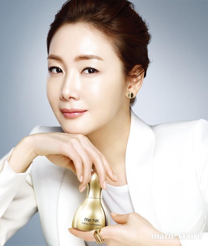 Người đẹp 'Bản tình ca mùa đông' Choi Ji Woo mang bầu ở tuổi 44 - ảnh 5