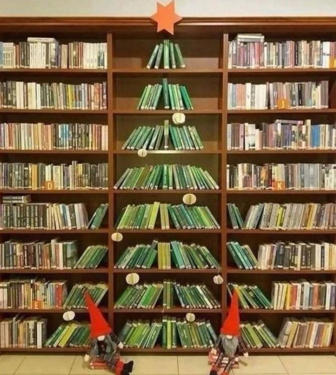 Thích mê những cây thông Noel 'có một không hai' của dân mạng - ảnh 1