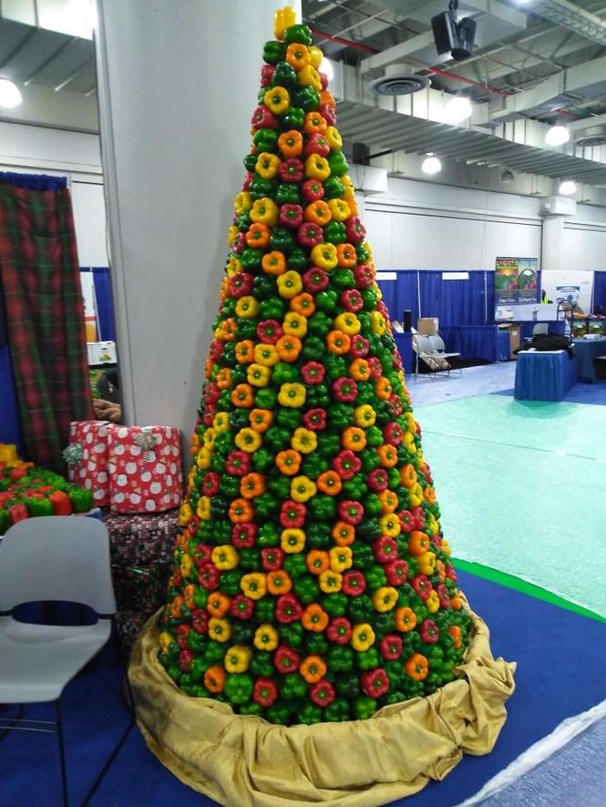Thích mê những cây thông Noel 'có một không hai' của dân mạng - ảnh 2