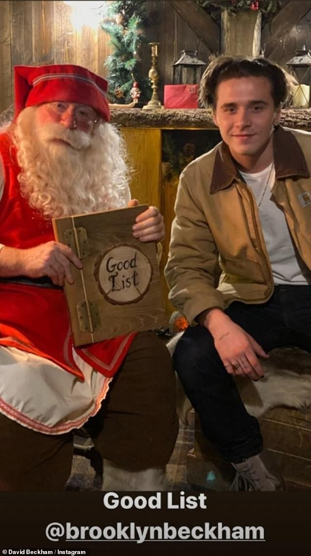 Bà Becks đăng ảnh chồng David Beckham hóa ông già Noel gây 'sốt' - ảnh 8