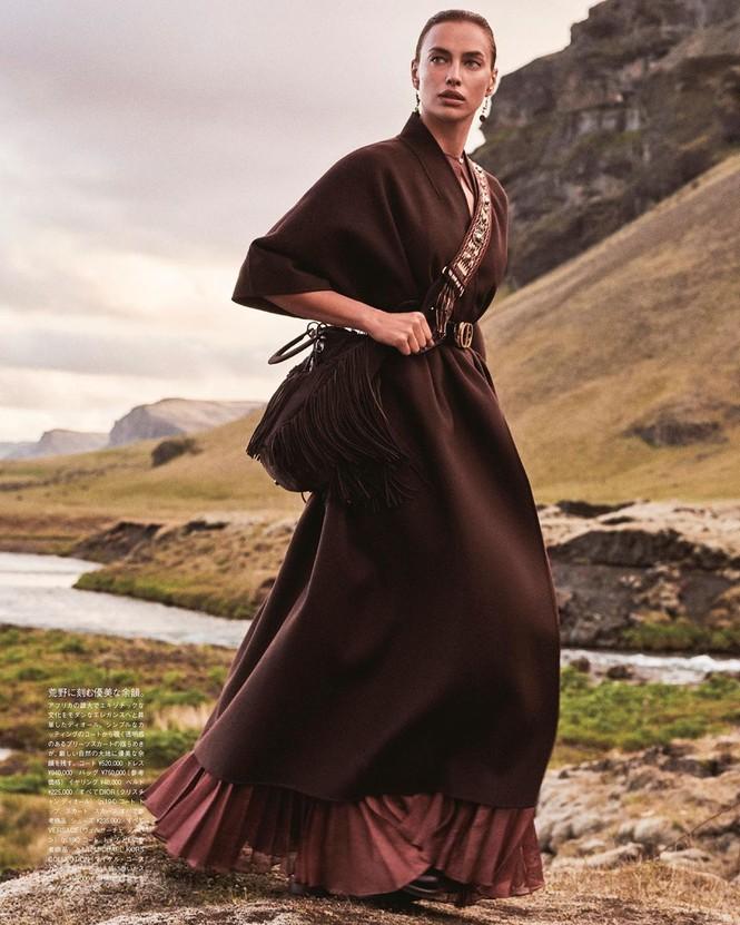 Irina Shayk đẹp như mỹ nữ trong tranh ở hòn đảo Iceland - ảnh 5