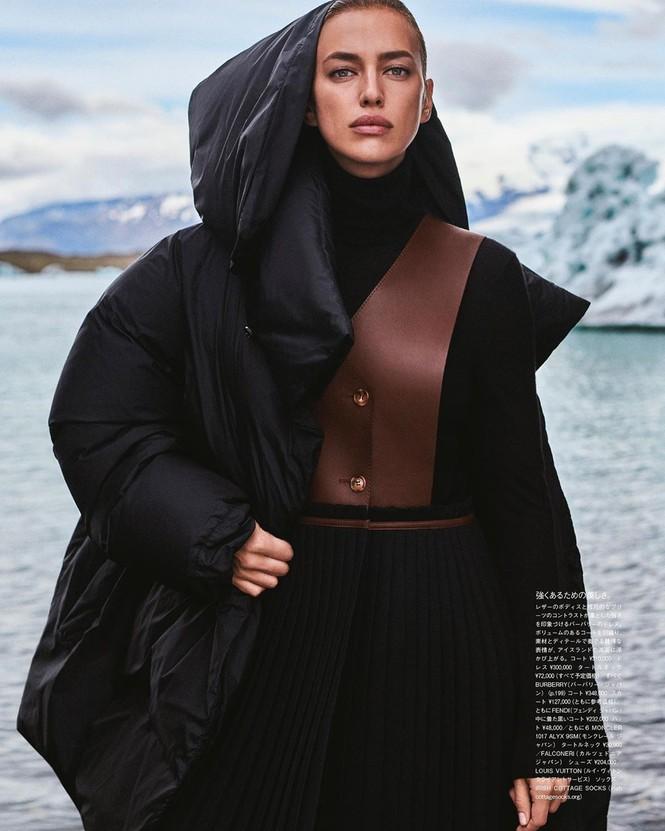 Irina Shayk đẹp như mỹ nữ trong tranh ở hòn đảo Iceland - ảnh 9