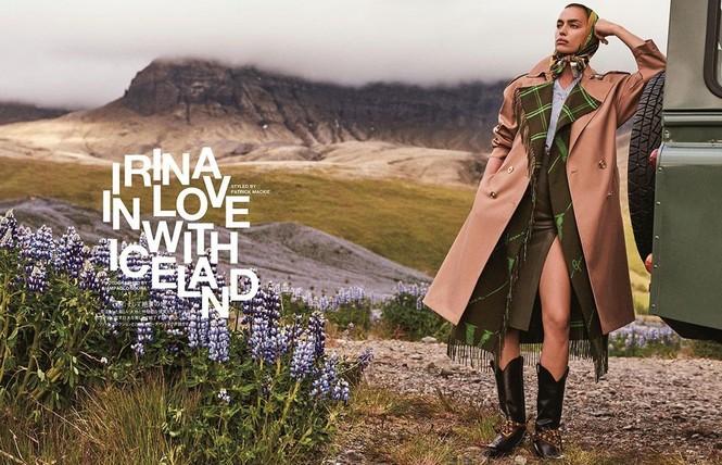 Irina Shayk đẹp như mỹ nữ trong tranh ở hòn đảo Iceland - ảnh 8