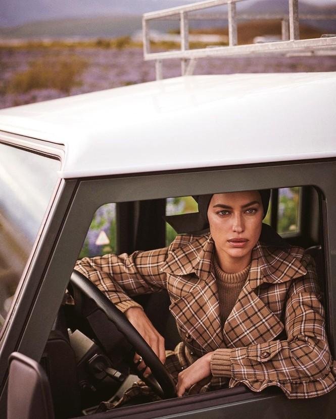 Irina Shayk đẹp như mỹ nữ trong tranh ở hòn đảo Iceland - ảnh 6