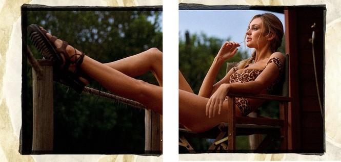 Candice Swanepoel hở bạo phô trọn đường cong 'nảy lửa' - ảnh 4