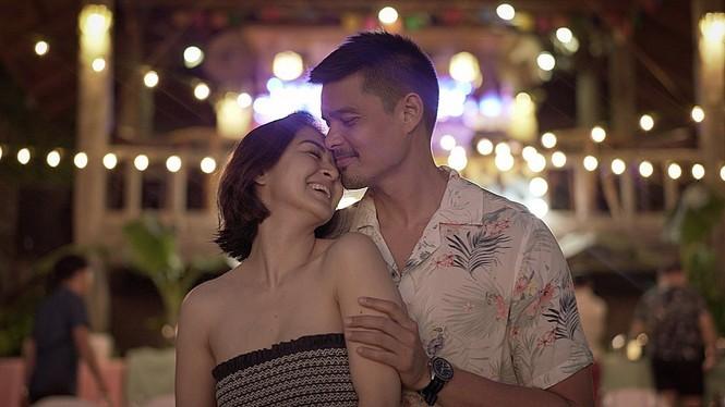 'Mỹ nhân đẹp nhất Philippines' kỷ niệm 5 năm ngày cưới ngọt ngào bên chồng - ảnh 1