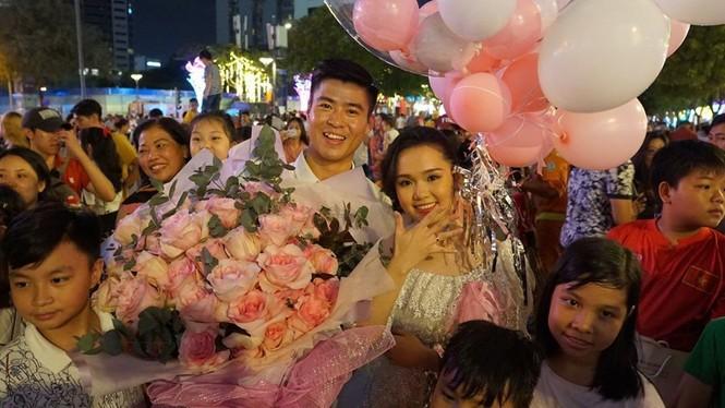 Cầu thủ Duy Mạnh chụp ảnh cưới cực tình bên bạn gái Quỳnh Anh - ảnh 5