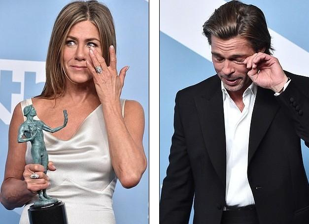 Jennifer Aniston 'quên' nội y, mừng rỡ ôm chồng cũ Brad Pitt - ảnh 14