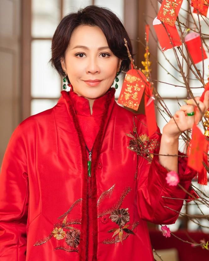 Lưu Gia Linh, Dương Mịch, Angelababy rạng ngời đón xuân - ảnh 7