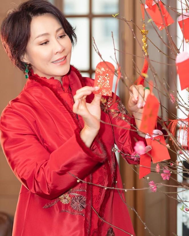 Lưu Gia Linh, Dương Mịch, Angelababy rạng ngời đón xuân - ảnh 6