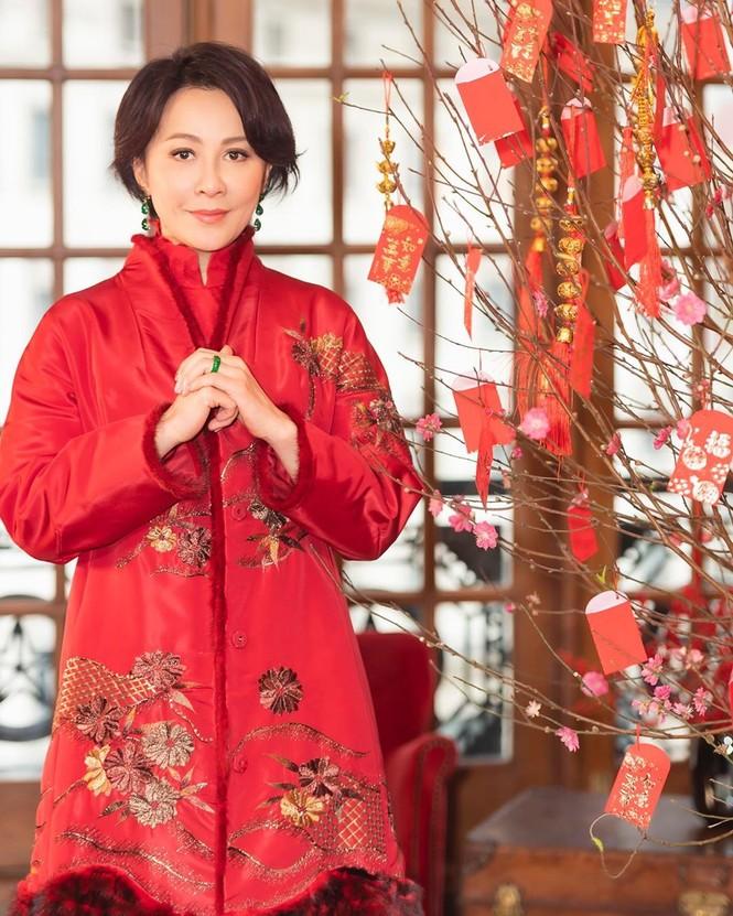 Lưu Gia Linh, Dương Mịch, Angelababy rạng ngời đón xuân - ảnh 8