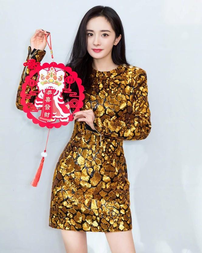 Lưu Gia Linh, Dương Mịch, Angelababy rạng ngời đón xuân - ảnh 10
