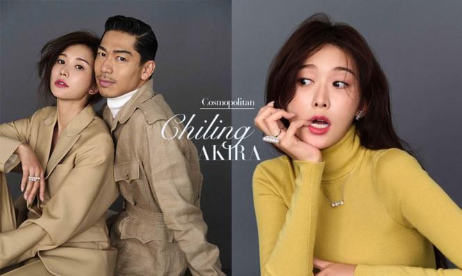 Lâm Chí Linh mặc áo xẻ ngực gợi cảm cùng chồng trẻ dự Grammy - ảnh 10
