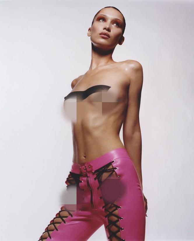Bella Hadid bán nude rực lửa thanh xuân - ảnh 13