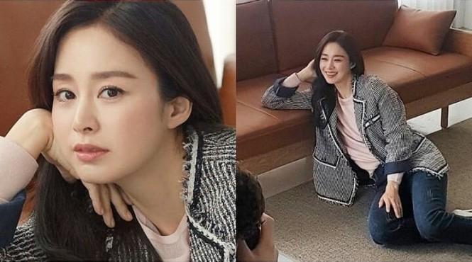 Kim Tae Hee đẹp như nữ thần ở tuổi 39 - ảnh 7