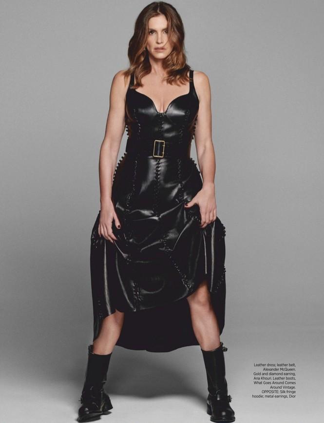 Siêu mẫu huyền thoại Cindy Crawford U60 trẻ đẹp rạng ngời - ảnh 6