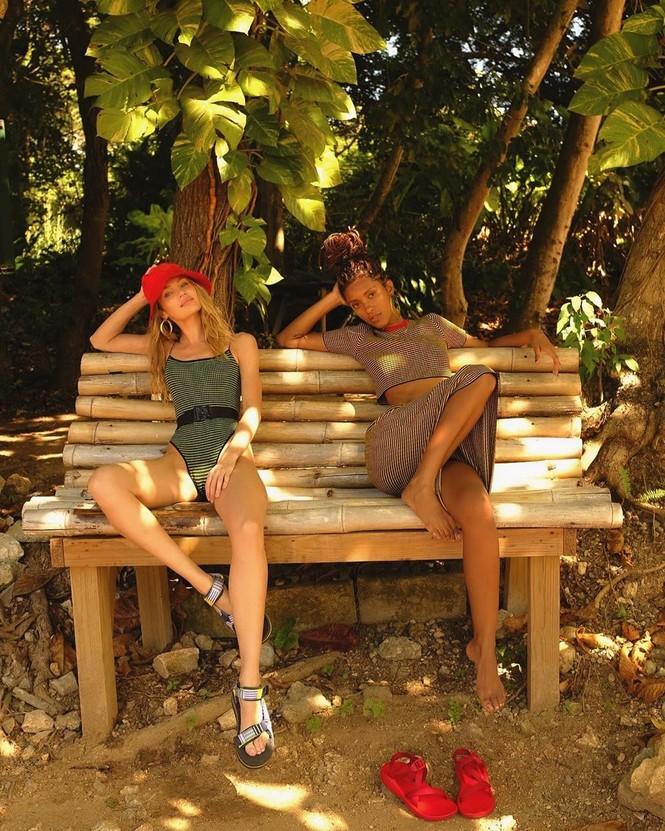 Candice Swanepoel thả dáng ngọc ngà gợi cảm ngây ngất - ảnh 8