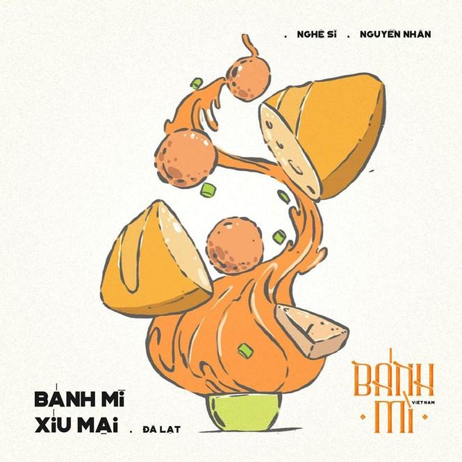 Bộ tranh vẽ bánh mì Việt Nam khiến dân mạng 'phát thèm' - ảnh 16