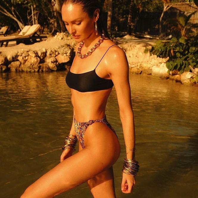 Candice Swanepoel 'đốn tim' quý ông với loạt ảnh bikini rực lửa - ảnh 2