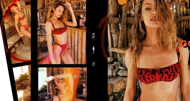 Candice Swanepoel 'đốn tim' quý ông với loạt ảnh bikini rực lửa - ảnh 8