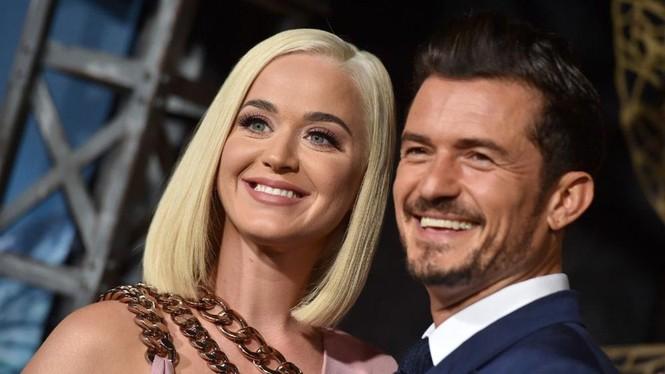 Siêu gợi cảm trong MV mới, Katy Perry mang bầu với 'cướp biển' Orlando Bloom - ảnh 13