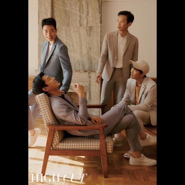 4 anh lính Triều Tiên 'Hạ cánh nơi anh' đẹp trai ngời ngời ngoài đời thực - ảnh 3