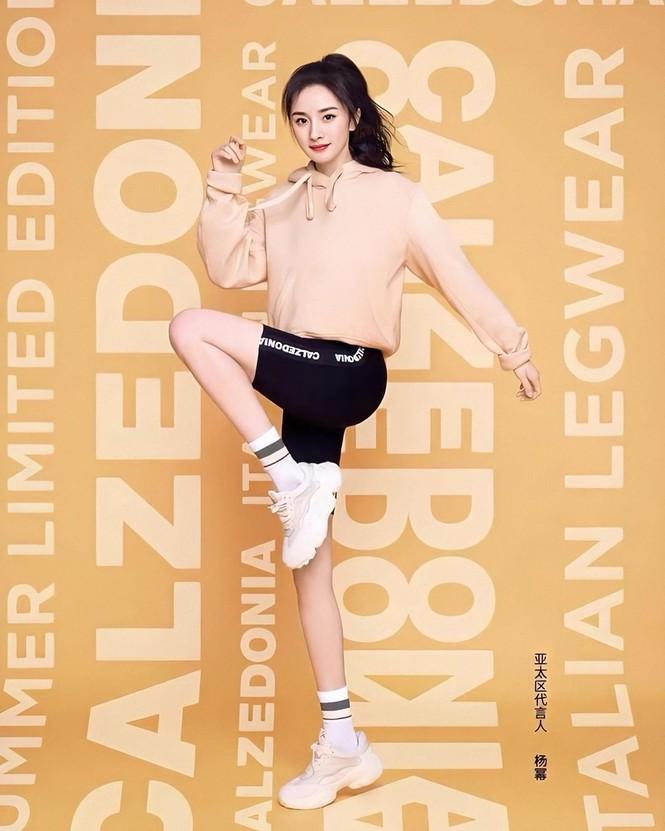Dương Mịch chân dài eo thon, trẻ xinh như nữ sinh tuổi teen - ảnh 10
