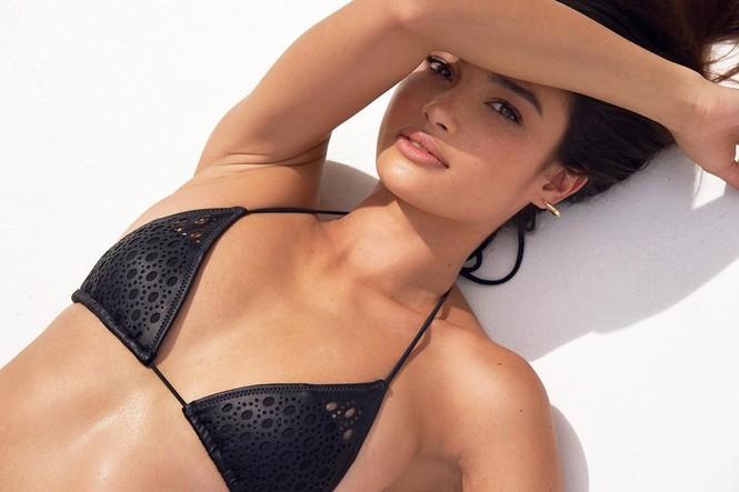 Siêu mẫu Kelsey Merritt xinh như thiên thần với thân hình tuyệt mỹ - ảnh 9