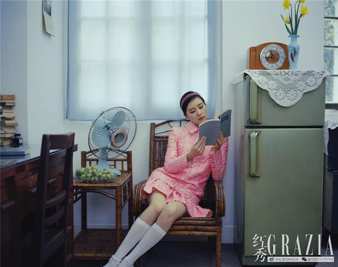 Sắc vóc gái một con xinh đẹp gợi cảm của 'tiên nữ' Lưu Thi Thi - ảnh 11
