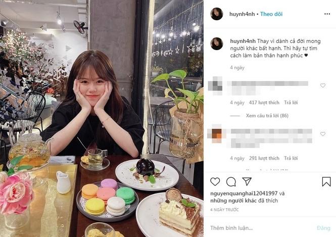 Quang Hải lên tiếng về chuyện tình cảm sau khi công khai bạn gái mới Huỳnh Anh - ảnh 4