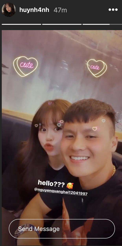 Quang Hải lên tiếng về chuyện tình cảm sau khi công khai bạn gái mới Huỳnh Anh - ảnh 3