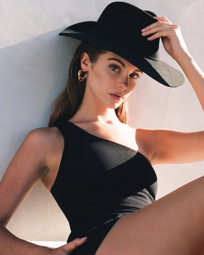 Ảnh nội y tôn dáng ngọc ngà của nàng mẫu Mỹ Carmella Rose  - ảnh 6