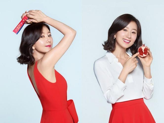 Bà cả 'Thế giới hôn nhân' Kim Hee Ae mặn mà gợi cảm ở tuổi 54 - ảnh 23