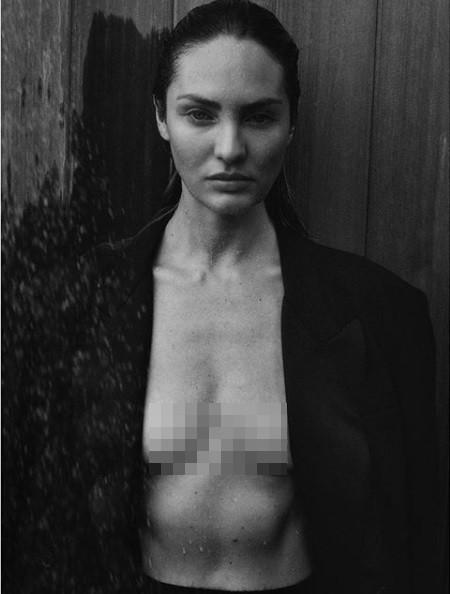 Candice Swanepoel không nội y siêu quyến rũ trong ảnh đen trắng - ảnh 3