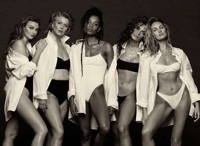 Candice Swanepoel không nội y siêu quyến rũ trong ảnh đen trắng - ảnh 13