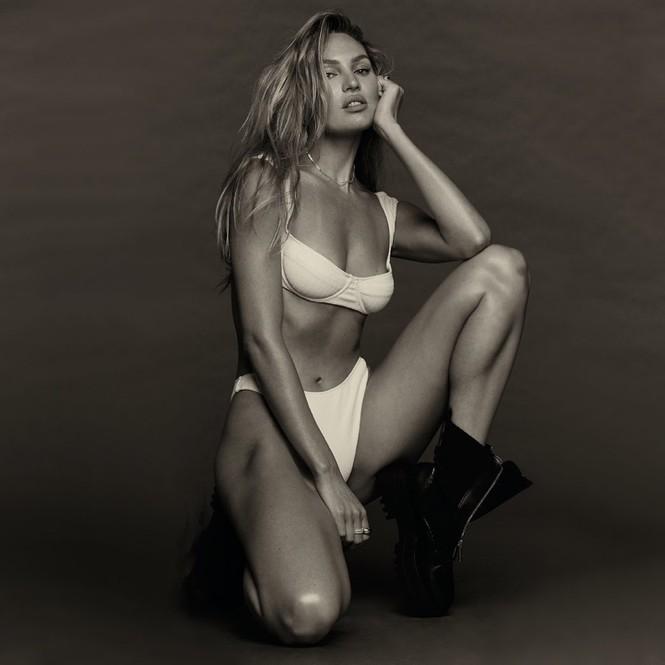 Candice Swanepoel không nội y siêu quyến rũ trong ảnh đen trắng - ảnh 8
