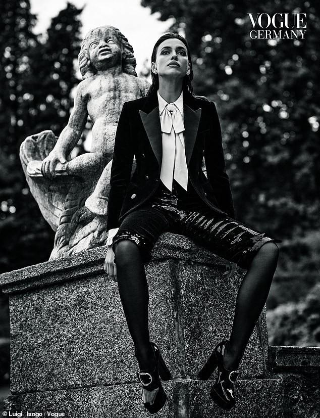 Siêu mẫu xứ bạch dương Irina Shayk gợi cảm như thần Vệ nữ - ảnh 4