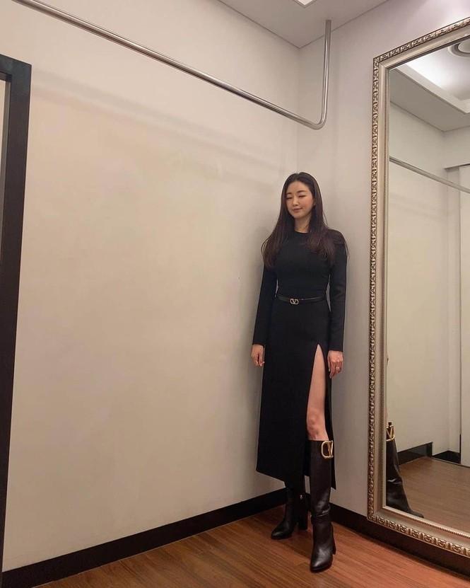 Hoa hậu Hàn Quốc khoe chân thon với váy xẻ cao táo bạo - ảnh 6