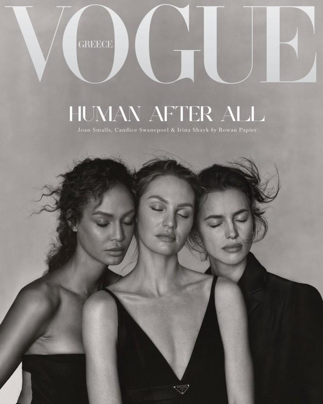 Irina Shayk cùng dàn mẫu quyến rũ hút hồn trên Vogue Hy Lạp - ảnh 1