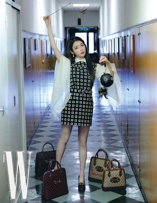 Vẻ đẹp trong veo thanh khiết nữ thần của 'em gái quốc dân' xứ Hàn IU - ảnh 20