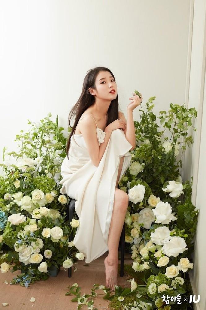 Vẻ đẹp trong veo thanh khiết nữ thần của 'em gái quốc dân' xứ Hàn IU - ảnh 3