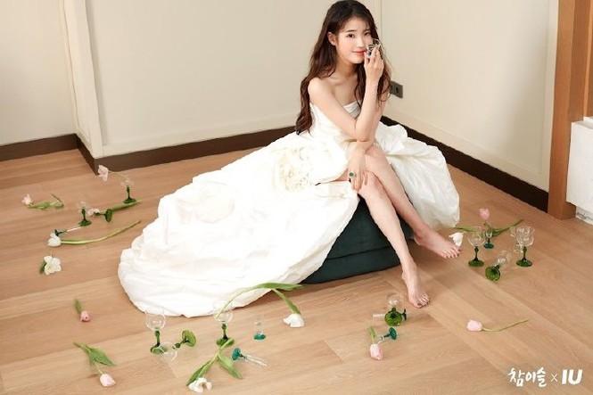 Vẻ đẹp trong veo thanh khiết nữ thần của 'em gái quốc dân' xứ Hàn IU - ảnh 6
