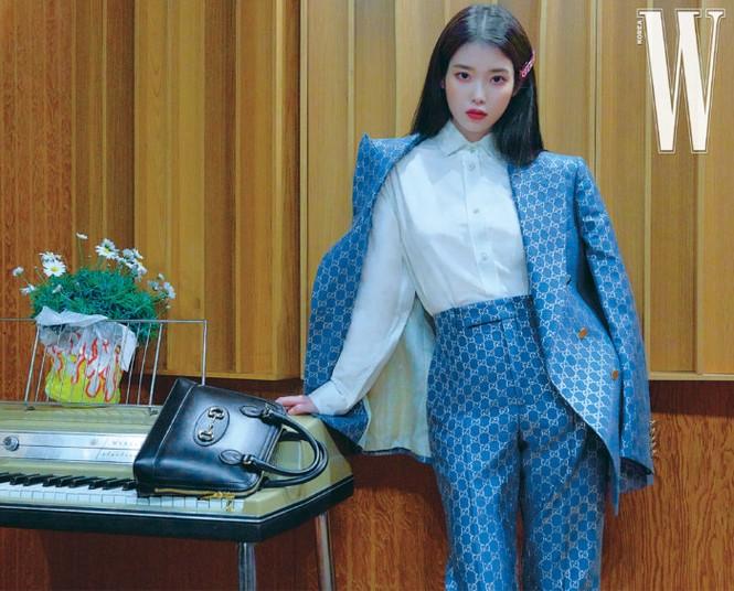 Vẻ đẹp trong veo thanh khiết nữ thần của 'em gái quốc dân' xứ Hàn IU - ảnh 19