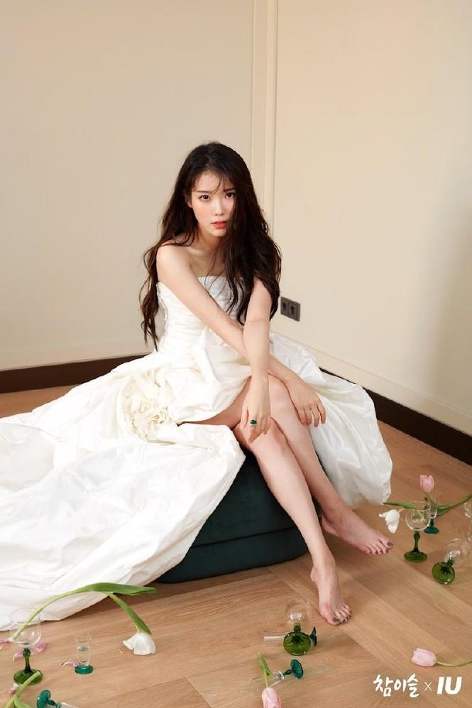 Vẻ đẹp trong veo thanh khiết nữ thần của 'em gái quốc dân' xứ Hàn IU - ảnh 7