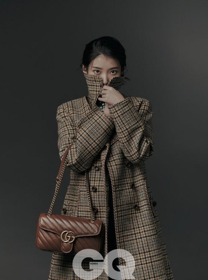 Vẻ đẹp trong veo thanh khiết nữ thần của 'em gái quốc dân' xứ Hàn IU - ảnh 23