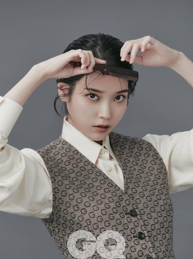 Vẻ đẹp trong veo thanh khiết nữ thần của 'em gái quốc dân' xứ Hàn IU - ảnh 21