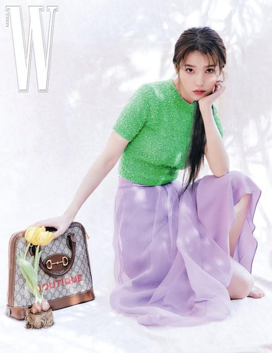 Vẻ đẹp trong veo thanh khiết nữ thần của 'em gái quốc dân' xứ Hàn IU - ảnh 12