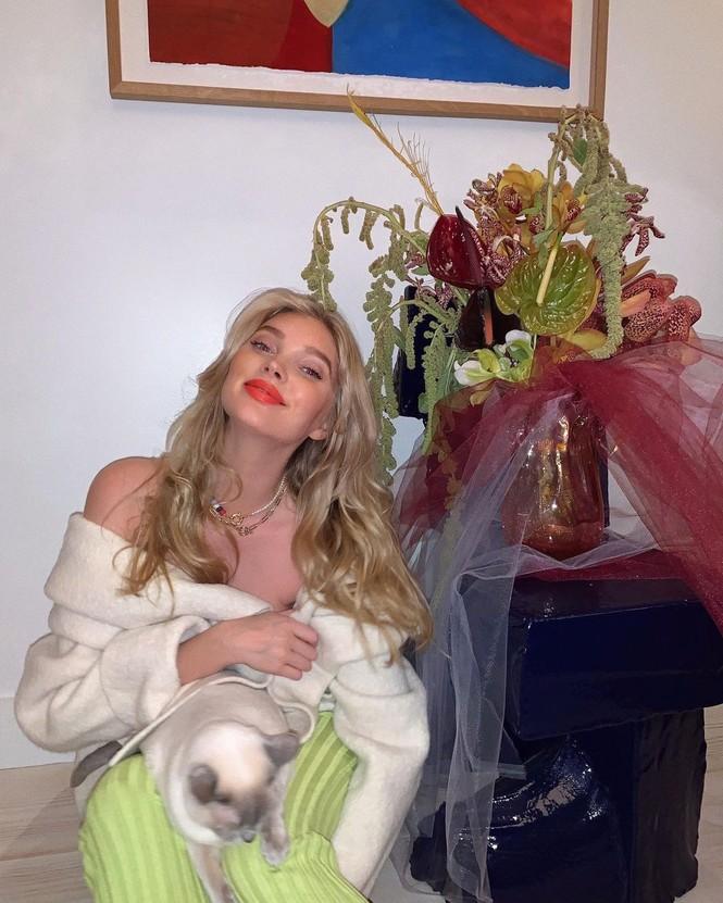 Ngắm sắc vóc gợi cảm của bà bầu xinh đẹp Elsa Hosk - ảnh 10